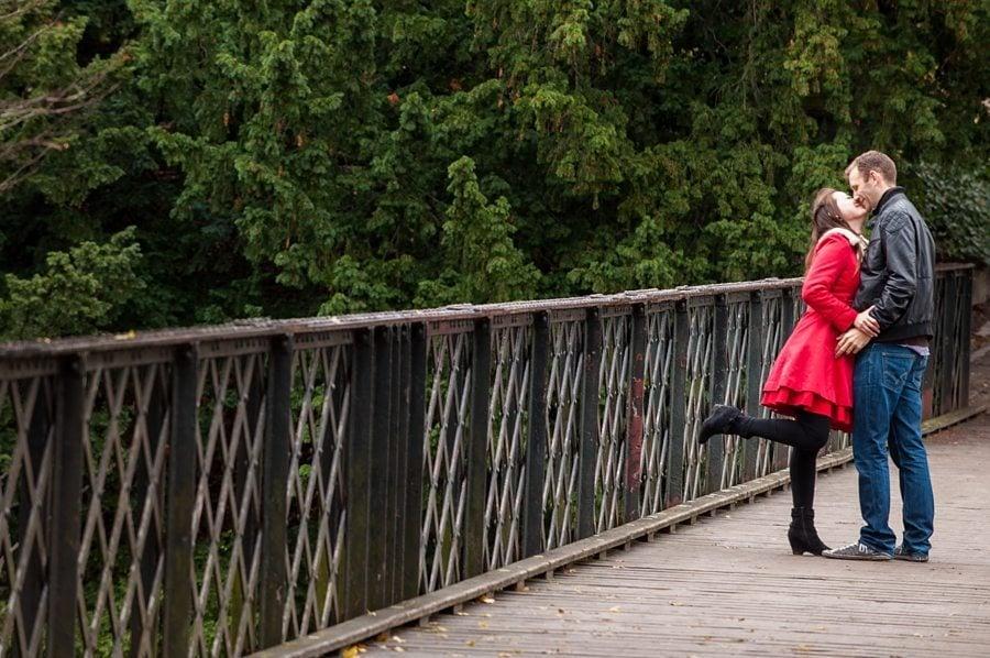 Søren & Lise Mia in the park