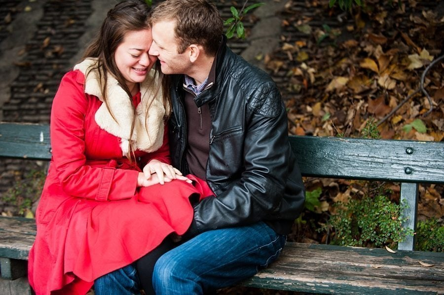Søren & Lise Mia engagement tenderness