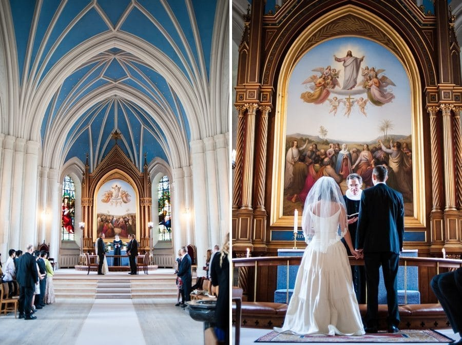 Copenhagen Destination wedding ceremony