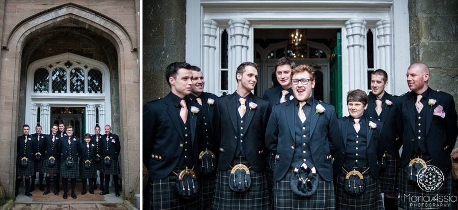 Creative wedding photographer in Scotland