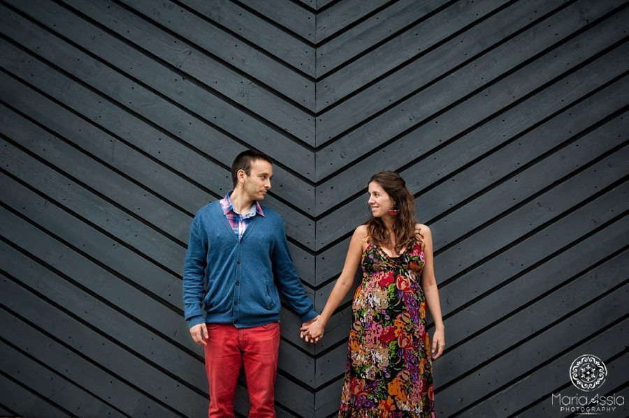 Regent's Canal Angel Colourful & Intimate Maternity shoot