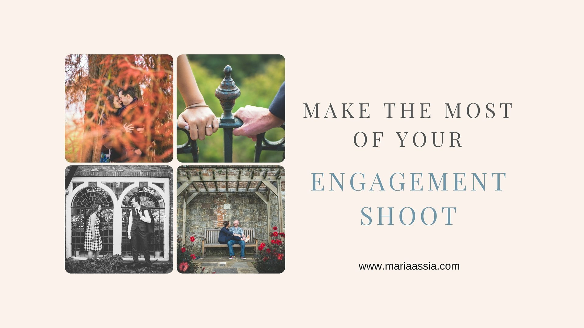 Tips for your engagement shoot by Maria Assia Photography