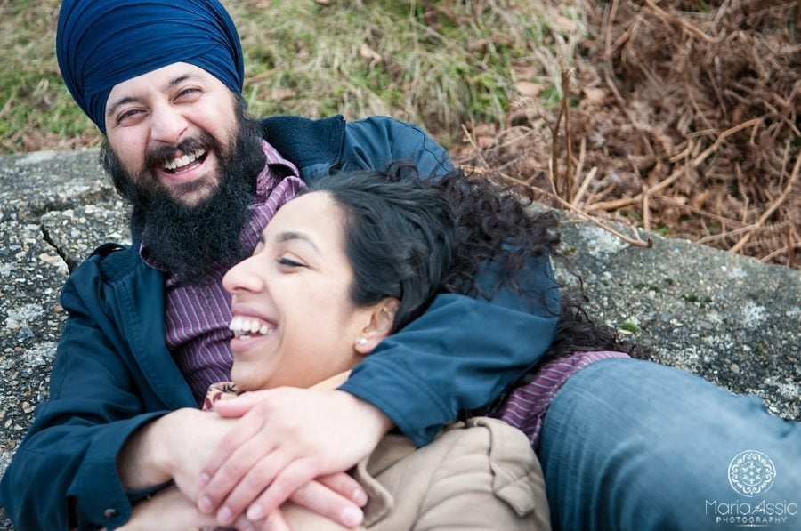Harmunn & Harmeet - engagement shoot