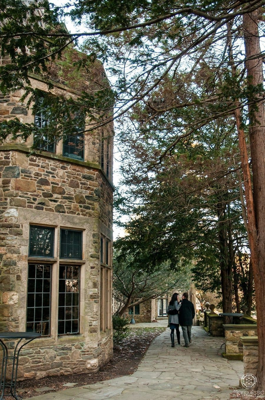 Hunting Hill Mansion engagement shoot