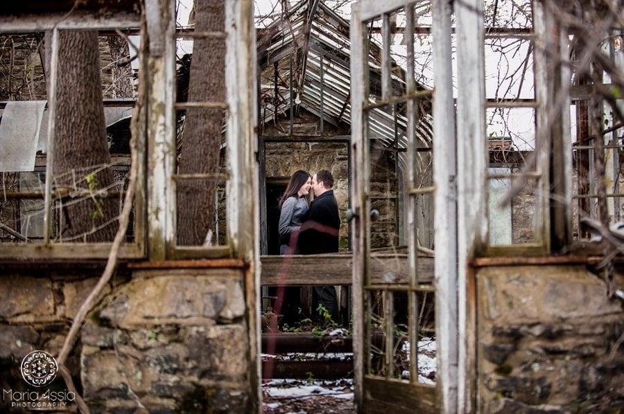 Ridley Creek pre-wedding shoot, Philadelphia wedding photographer