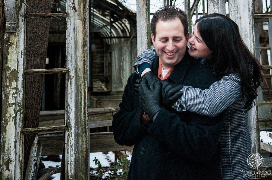 Brittany hugging Charles