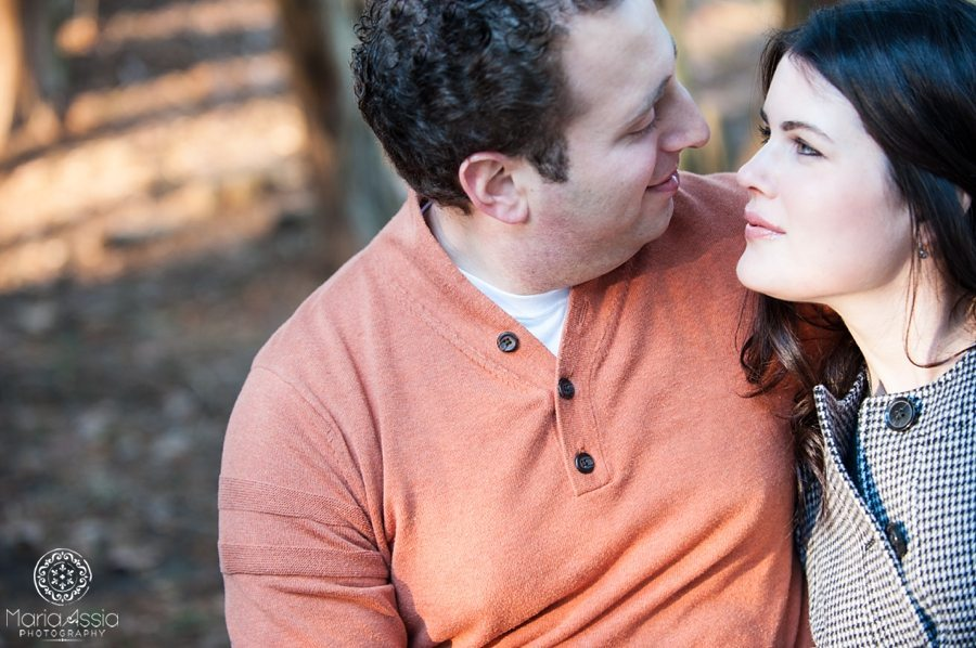 Ridley Creek pre-wedding shoot with Charles and Brittany