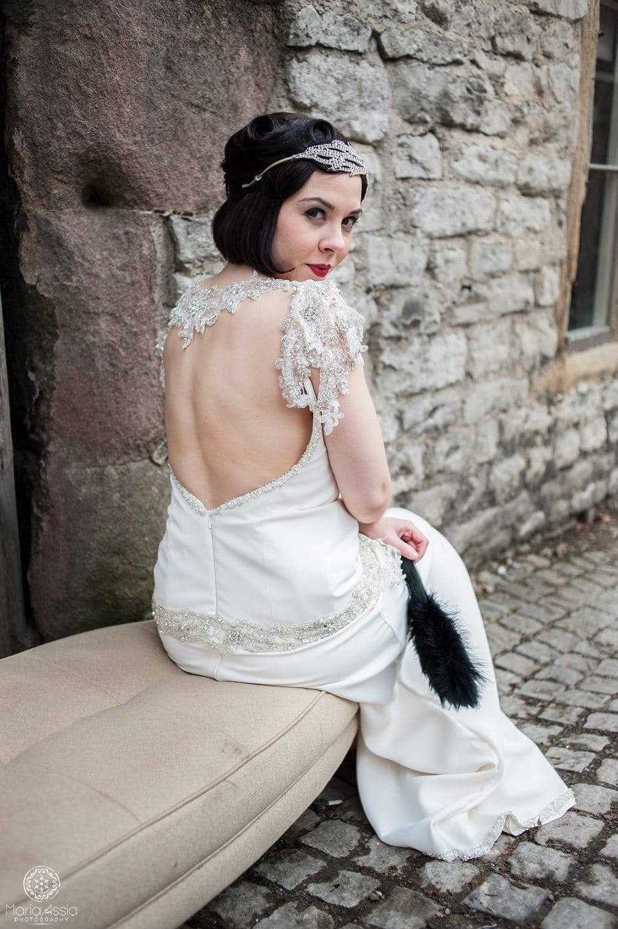 Downton Abbey bride photographer