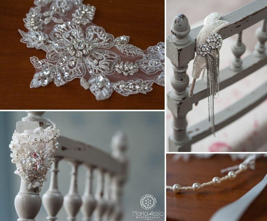 1920s bridal accessories
