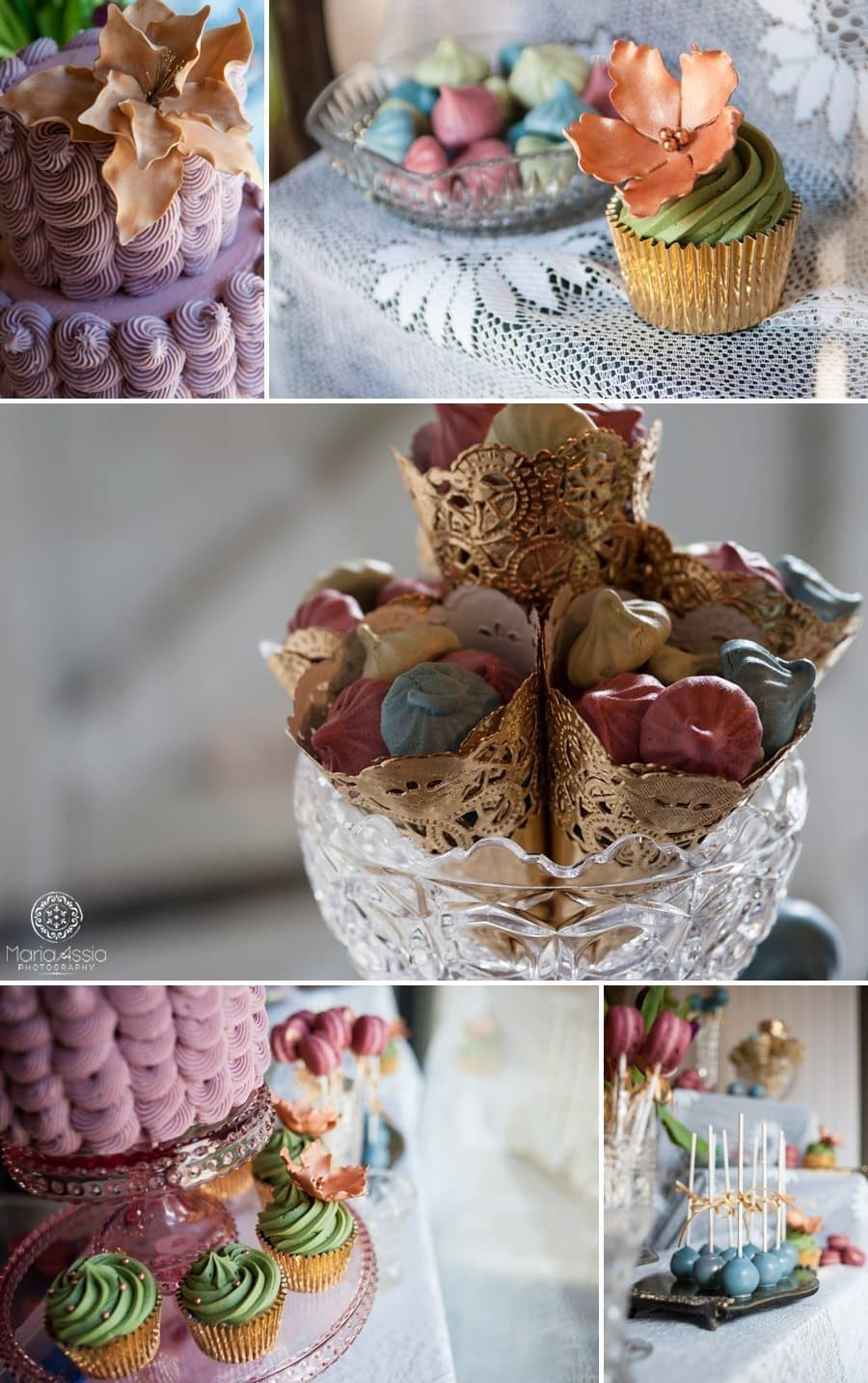 Delicious mouthwatering cakes