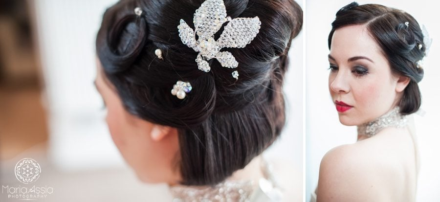 1920s accessories for the bride