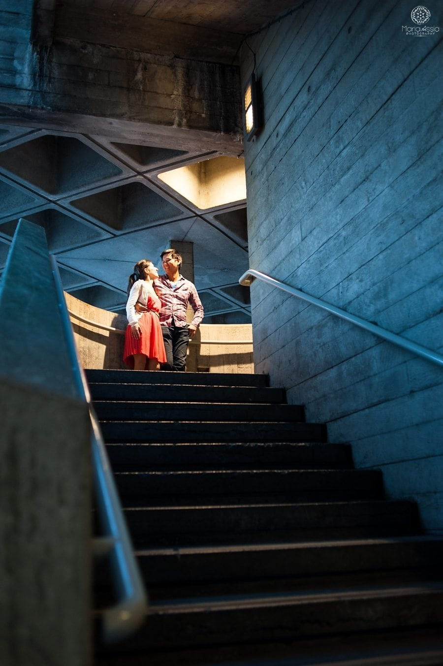 Maria Assia Photography captures a Southbank engagement shoot