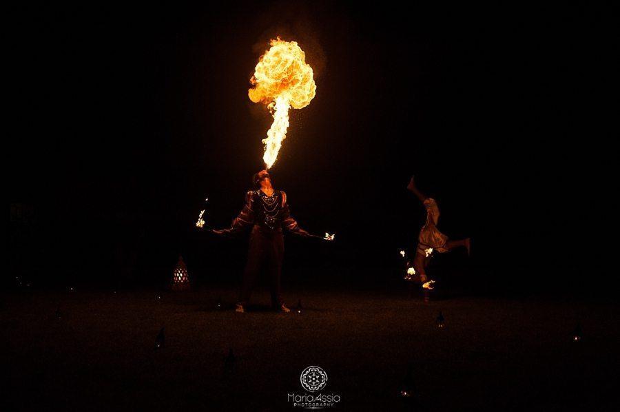 Marrakech fire dancer, Morocco wedding photographer