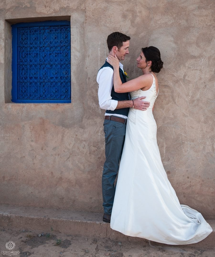 Morocco wedding portrait