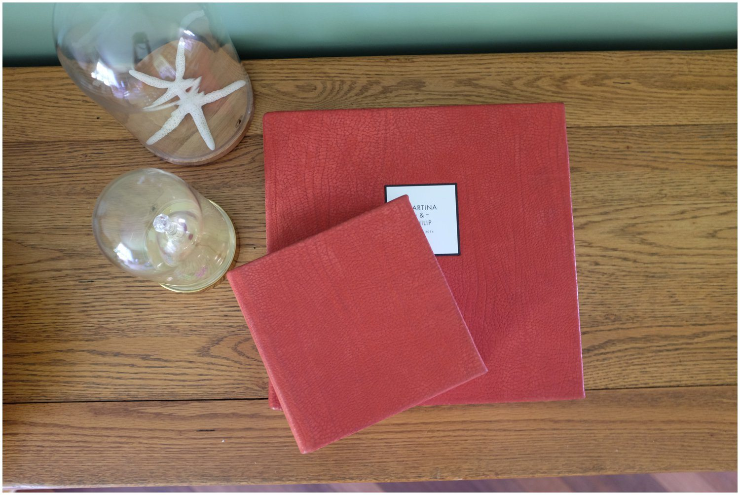 Maria Assia Photography traditional matted Wedding Albums