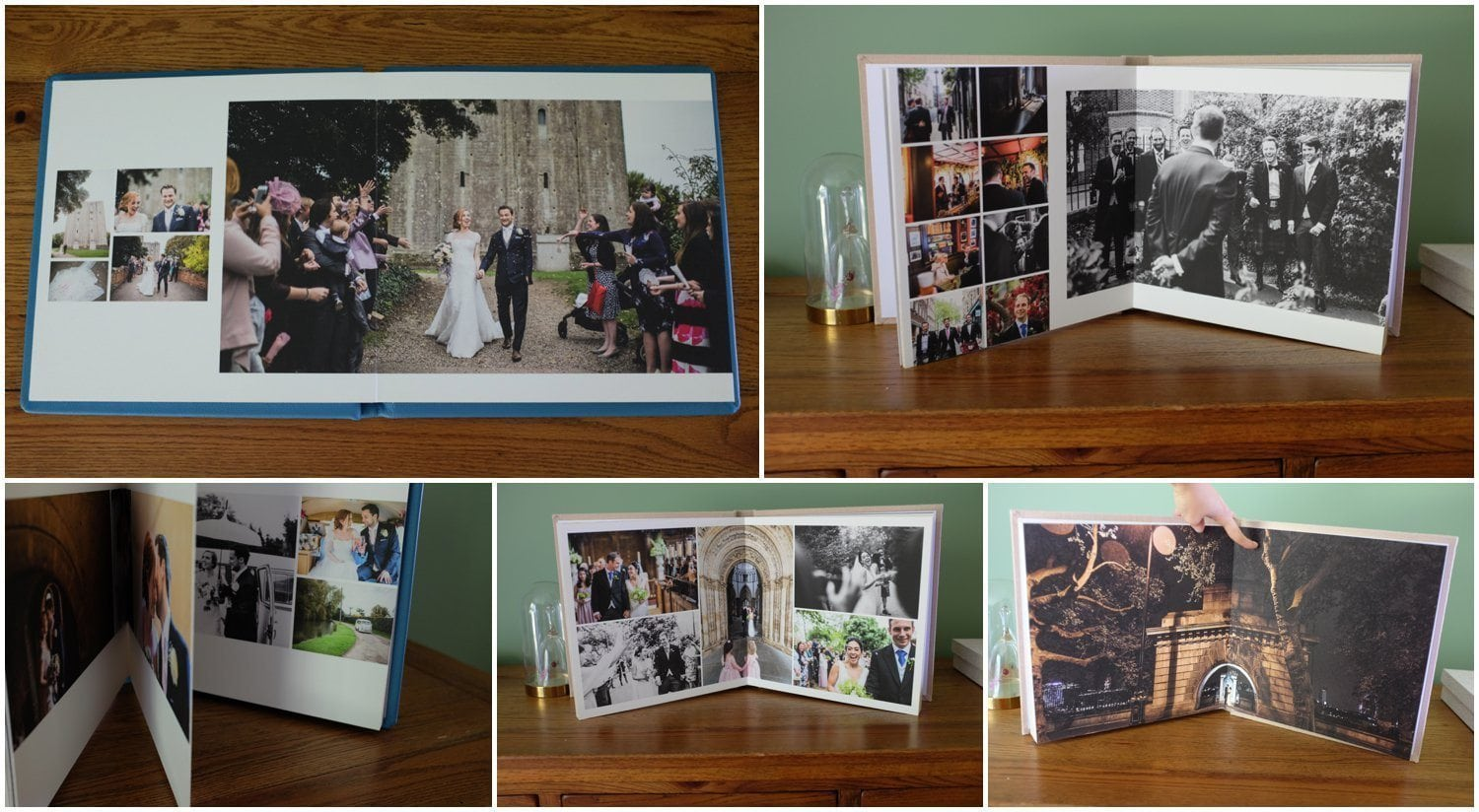 Contemporary Fine Art Wedding Albums by Maria Assia Photography