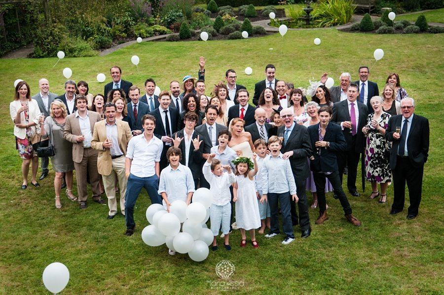 King's Lynne wedding party