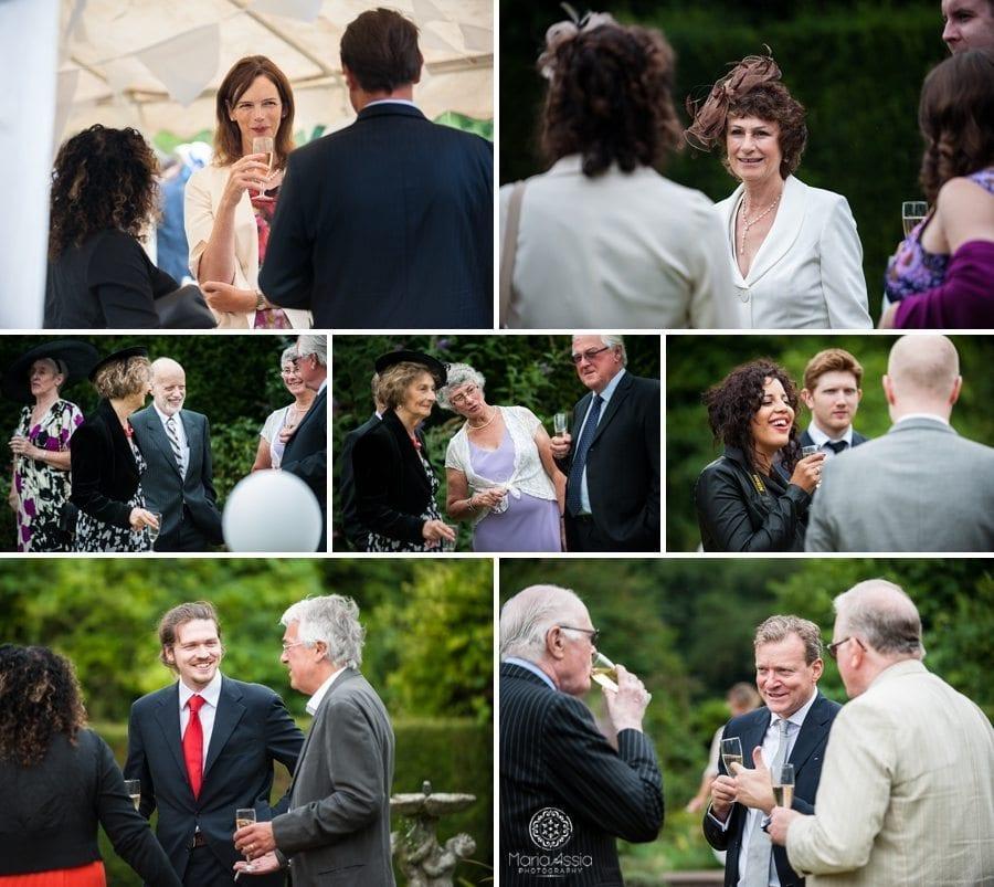 Wedding reception, wedding guests, Norfolk wedding