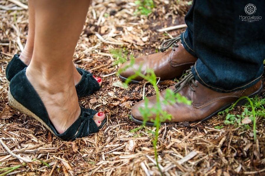 Knole Park engagement photo shoot