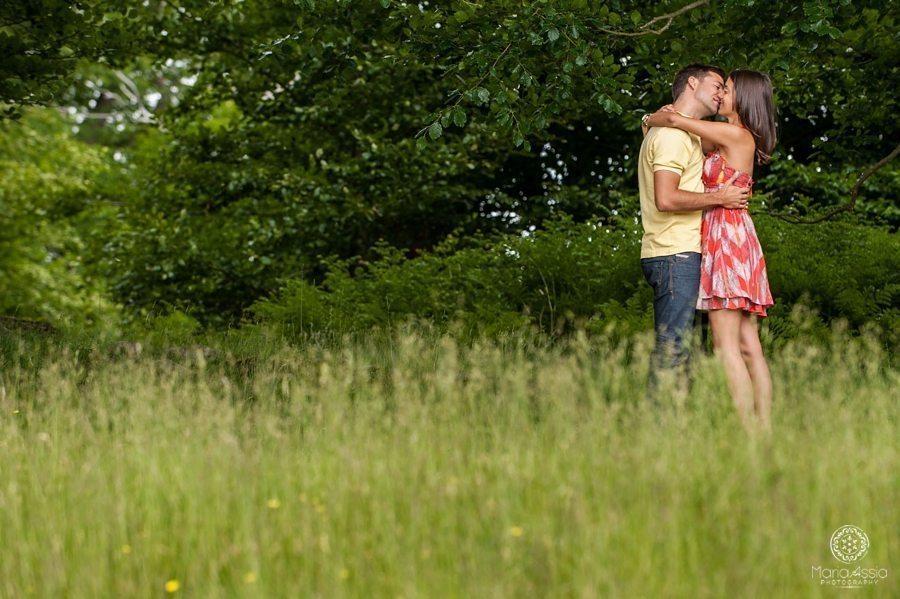 Romantic pre wedding photo shoot in Kent