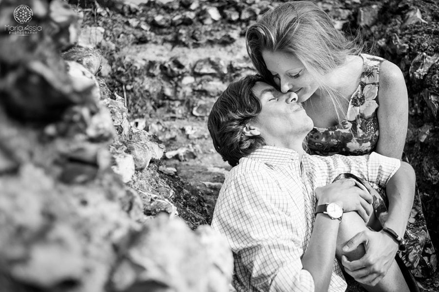 Romantic couple photoshoot, Kent engagement photographer