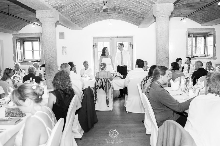 Bavarian Bride and Groom's speech