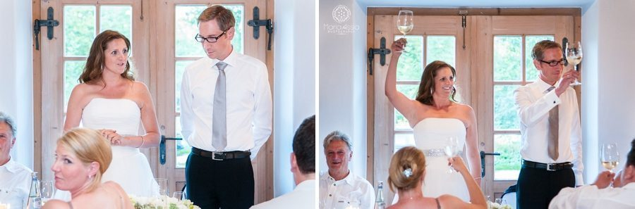 Bavarian Bride and Groom speech and toast
