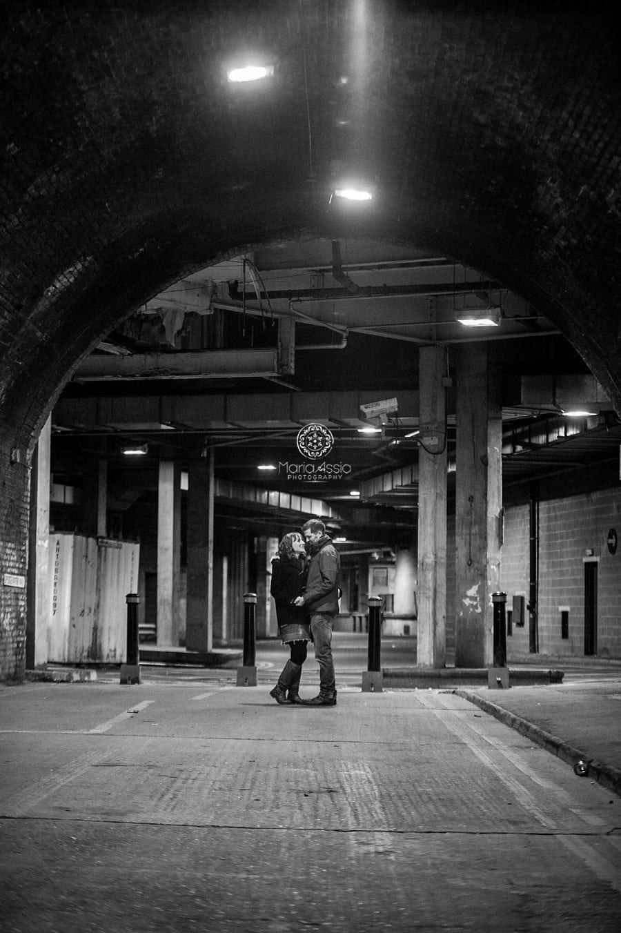 Windsor Railway tunnel engagement shoot