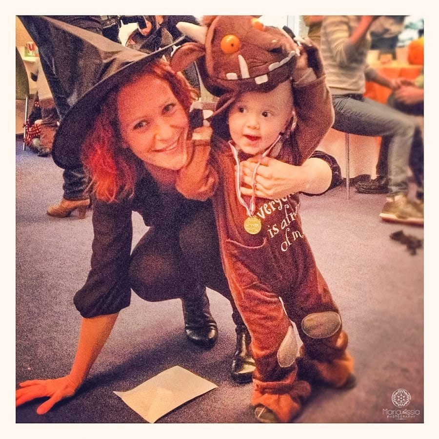 gruffalo and witch halloween costumes
