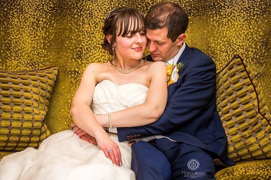 Bride and Groom Windsor Sir Christopher Wren Hotel Vintage Windsor Wedding