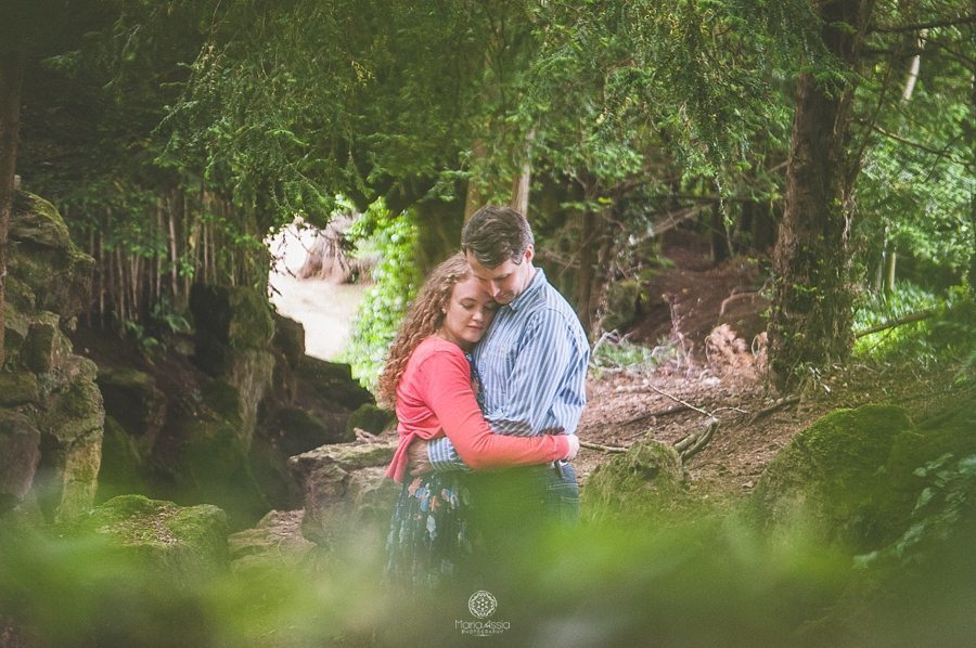Bowood House engagement photoshoot