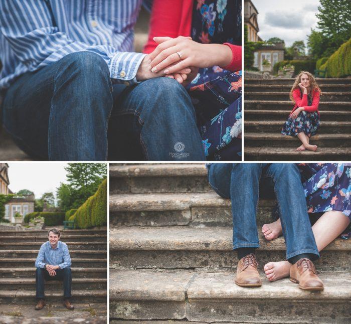 Bowood House Engagement photo shoot