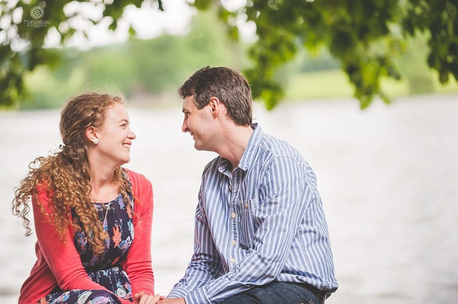 Bowood House engagement shoot