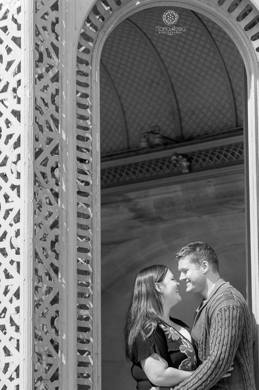 Waddesdon Manor Aviary engagement shoot