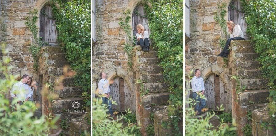 Scotney Castle pre-wedding photo shoot