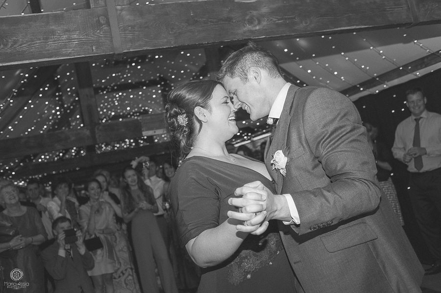 Birtsmorton Court first dance - Birtsmorton Court Navy Blue Wedding - Maria Assia Photography