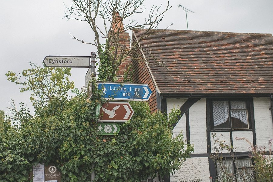 Eynsford street sign in Kent
