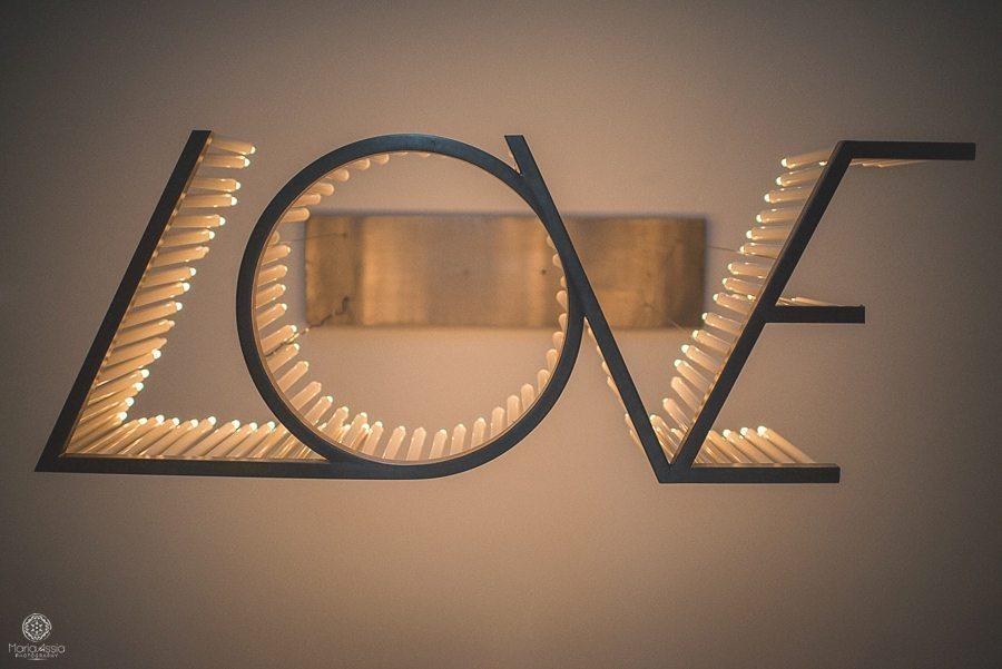 Coworth Park LOVE chandelier