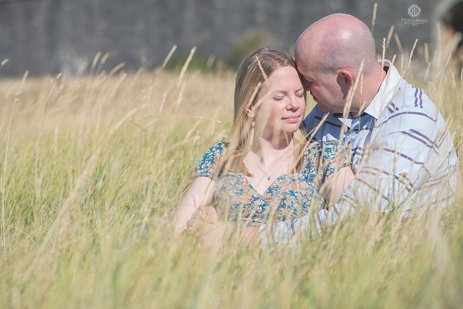 Hurst Castle creative engagement photos