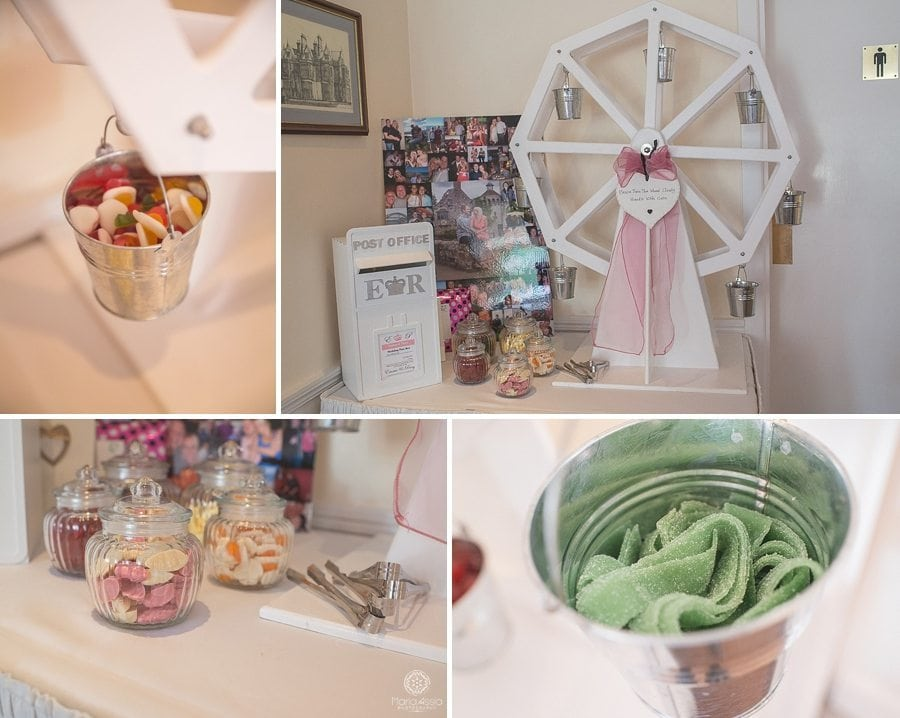 Sweets windmill at a Bickley Manor Hotel Wedding
