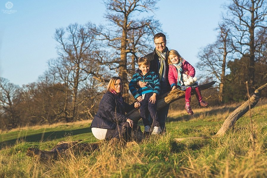 Family shoot at Pembroke Lodge