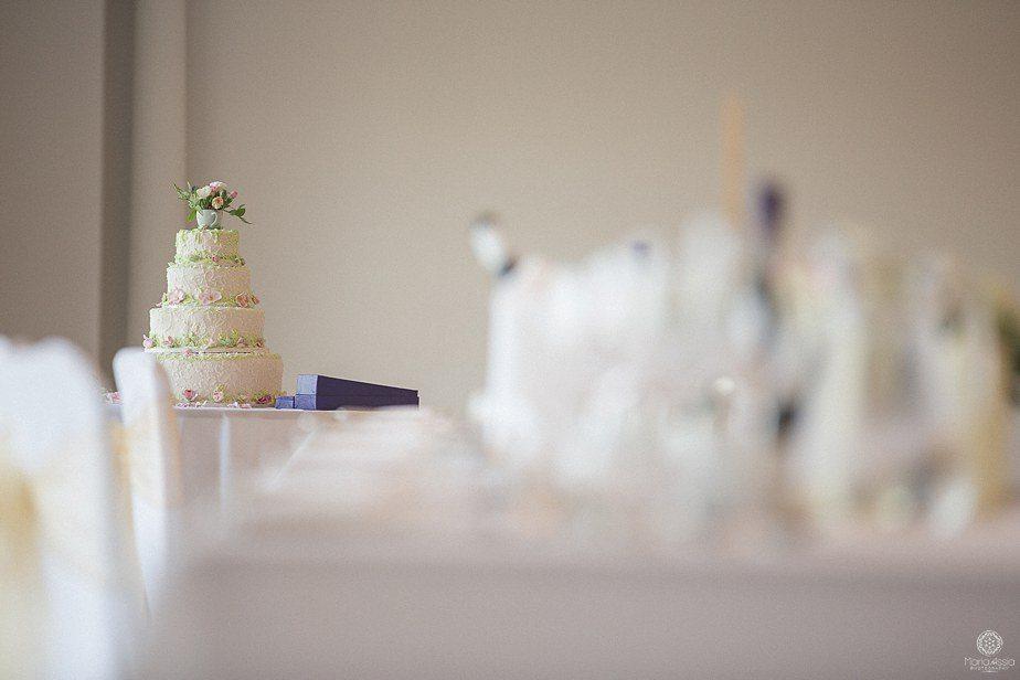 Wedding cake at Froyle Park Colourful Ethnic Wedding