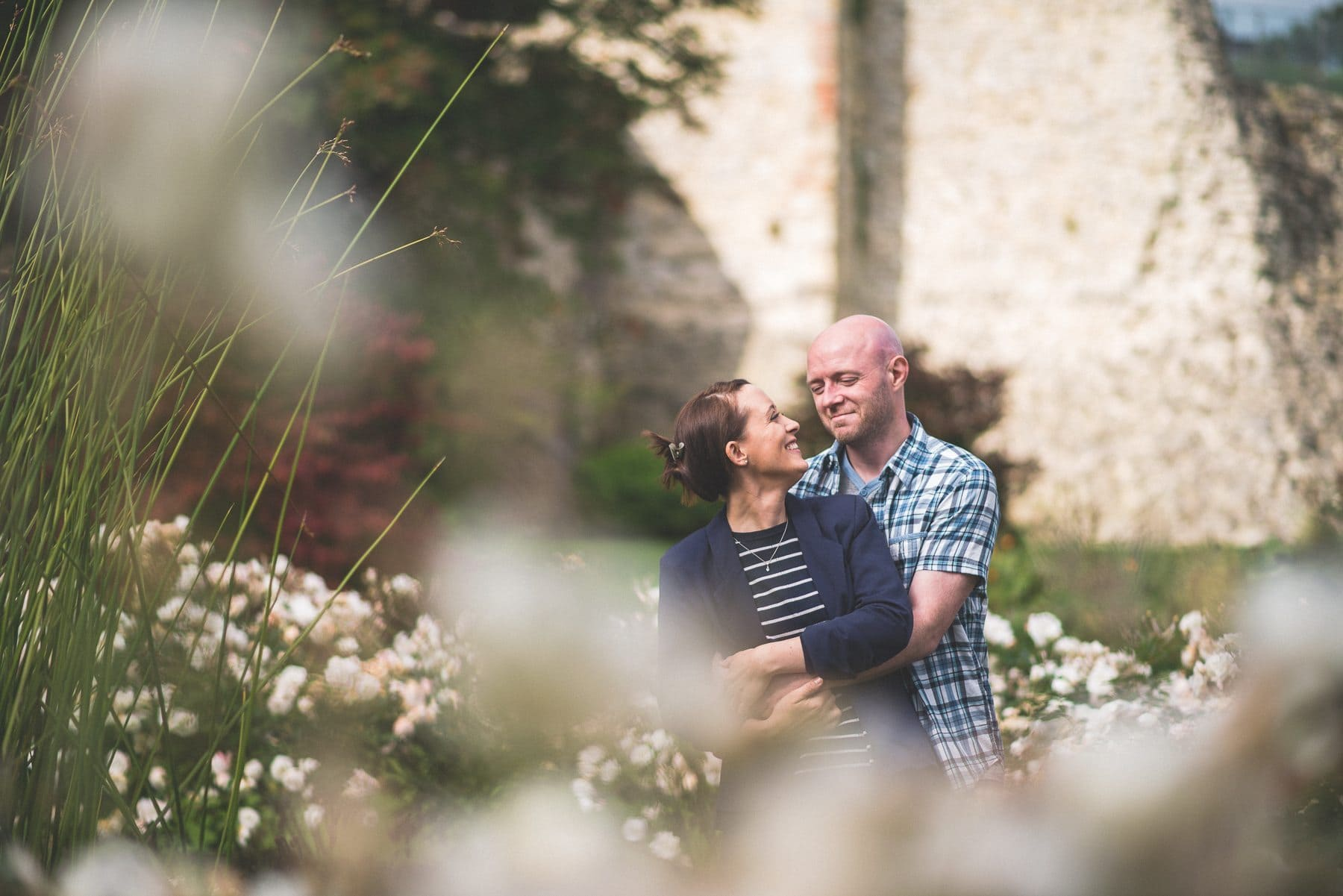 Maria Assia photography captures an early morning prewedding shoot at Farnham Castle