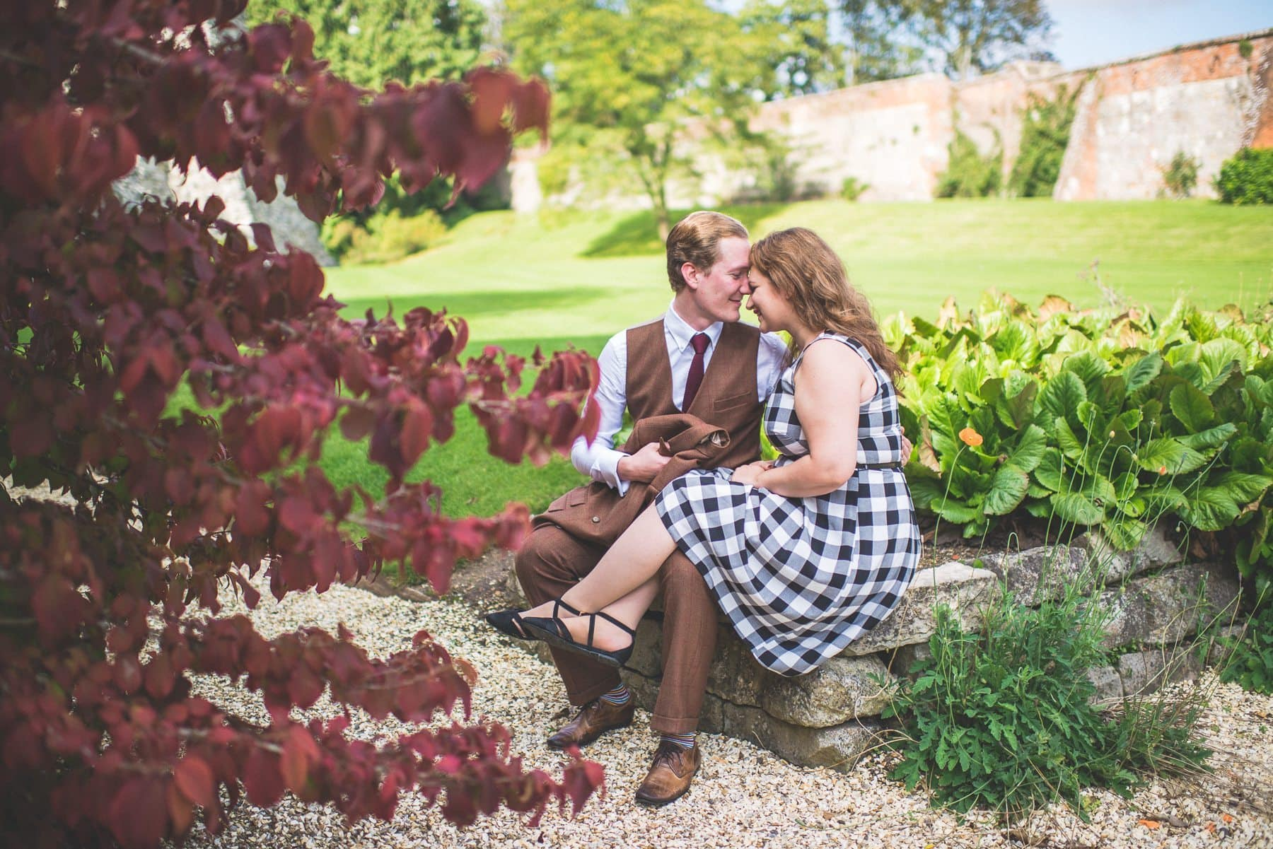 Tweed & Petticoats pre-wedding shoot at Farnham Castle by Maria Assia Photography
