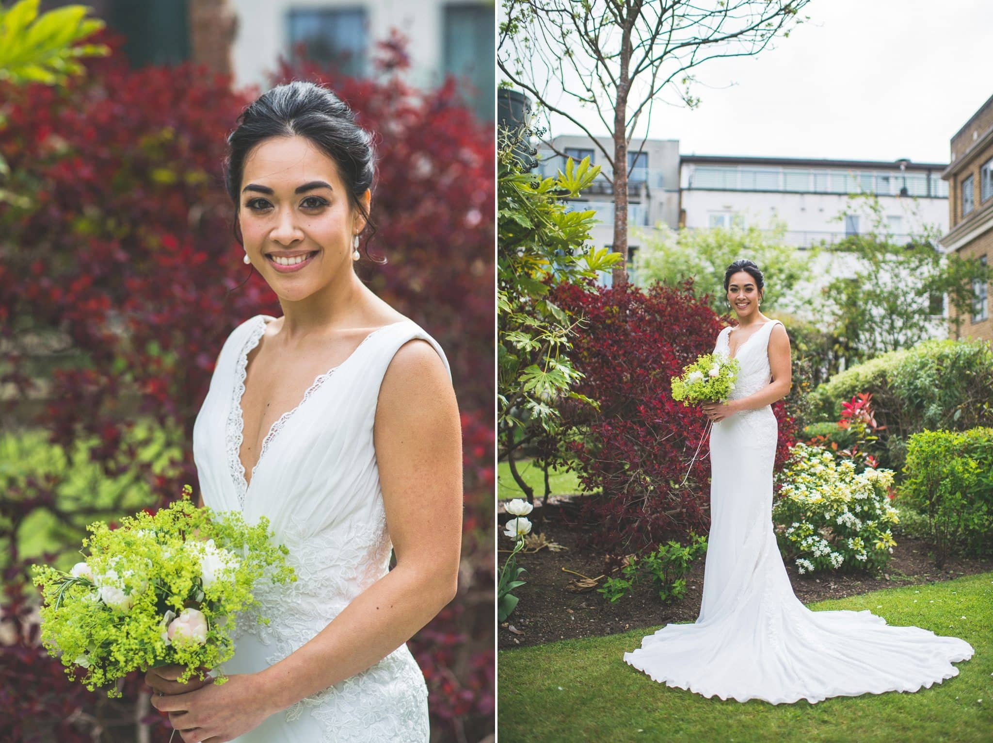 Bridal portraits for her Two Temple Place wedding