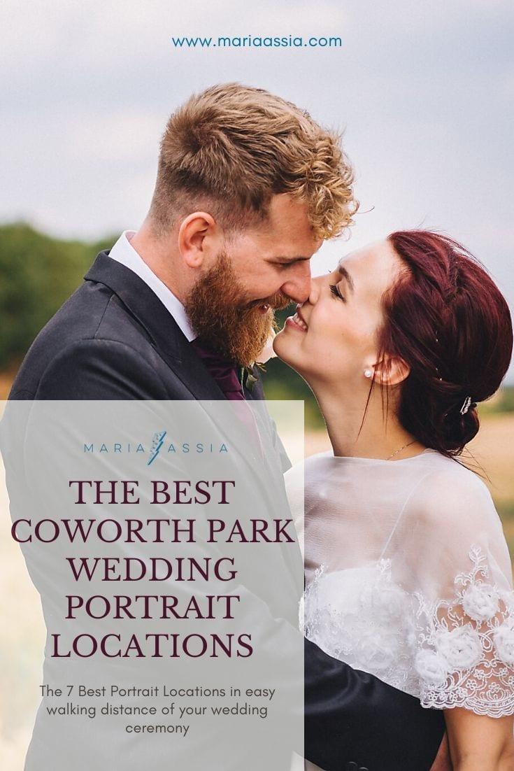 The Best Coworth Park Wedding Portrait Locations
