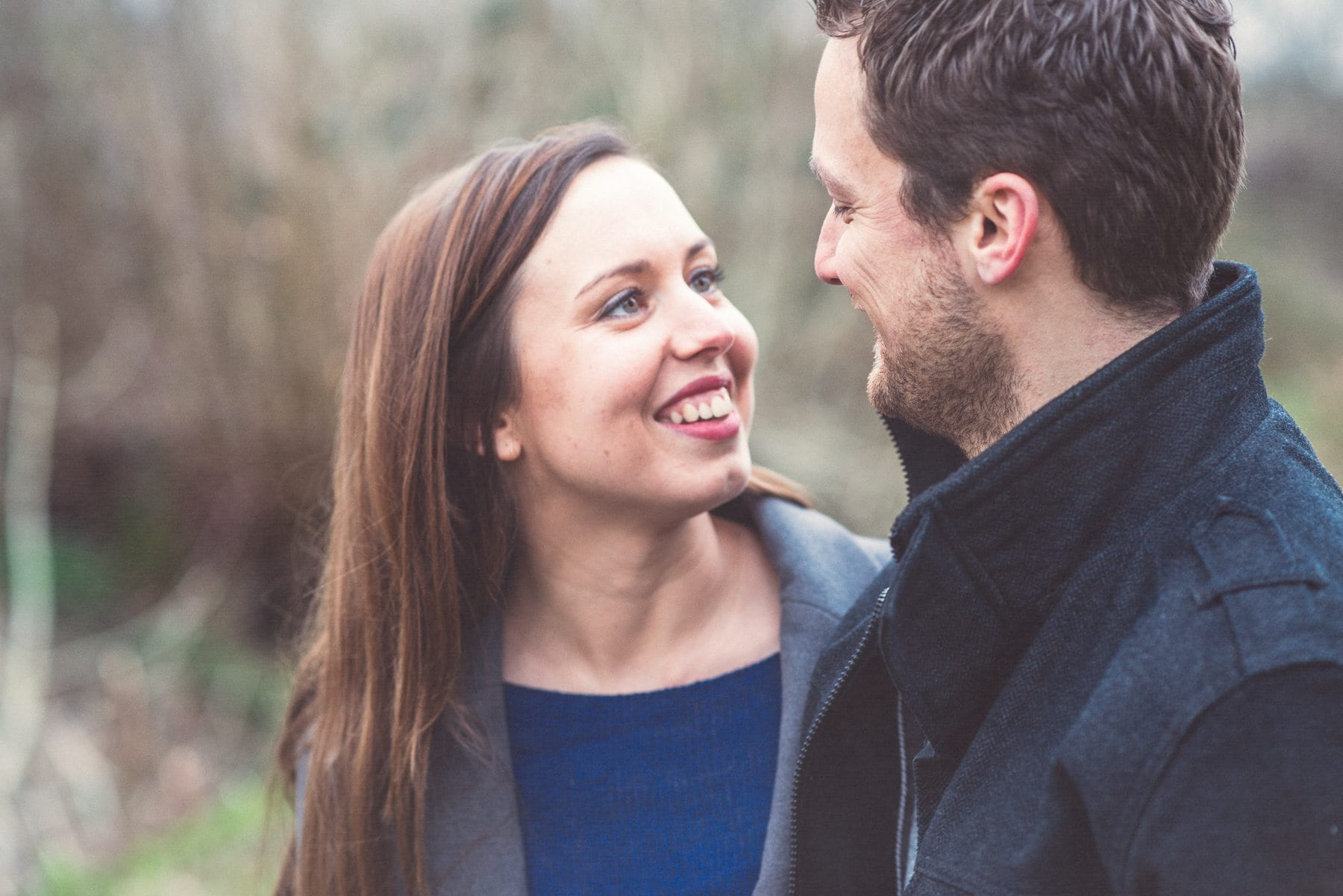 Winter engagement shoot by Best Film photographer Maria Assia Photography