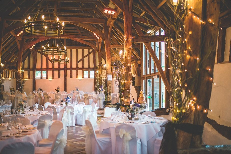 Smeetham hall Barn rustic Wedding breakfast room settings