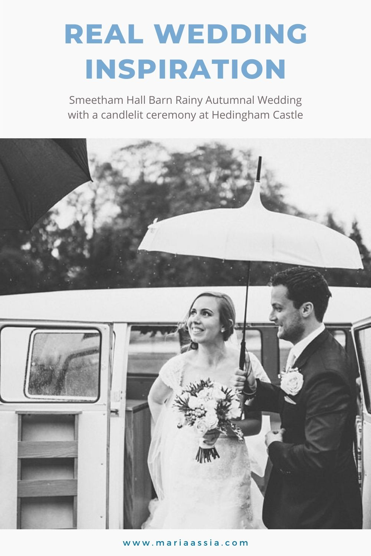 Real Wedding Inspiration for a Smeetham Hall and Candlelit Hedingham Castle Wedding