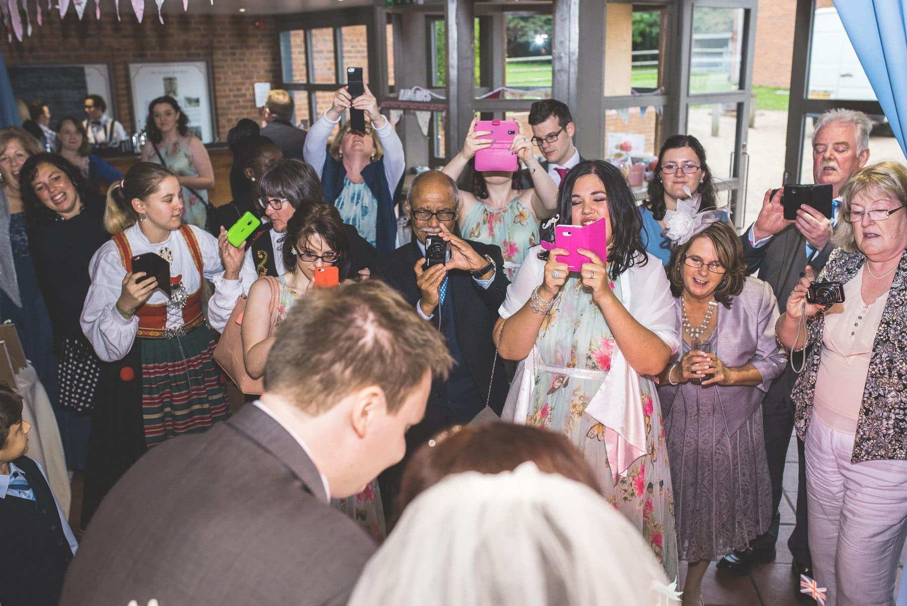 hire a professional wedding photographer rather than a friend